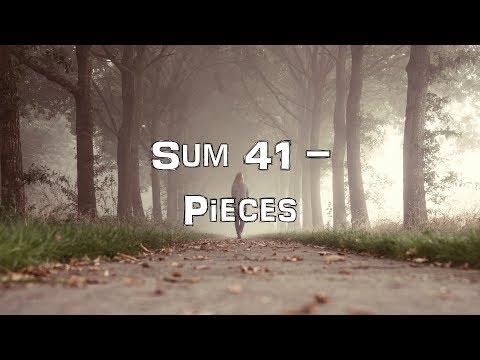 Sum 41 - Pieces [Acoustic Cover.Lyrics.Karaoke]