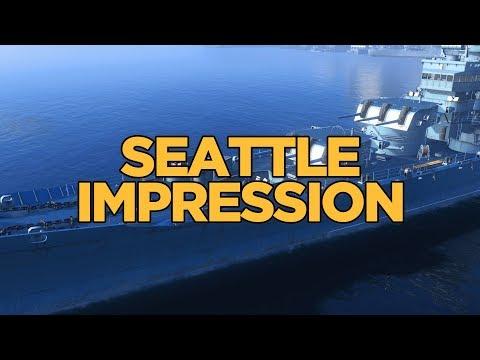 World of Warships - Seattle Impression