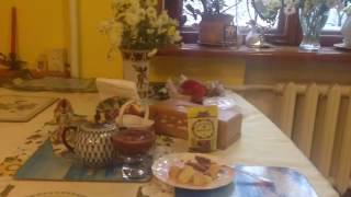 Соус из брусники с имбирем