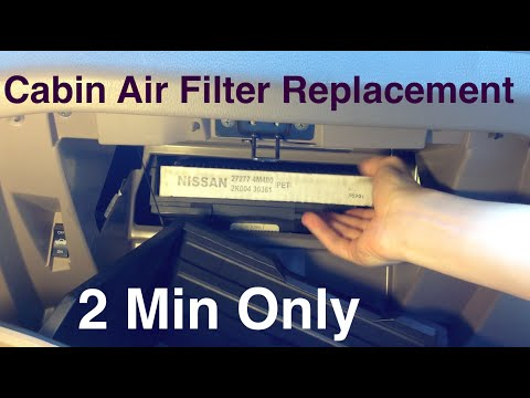 how to change 2014 murano cabin filter autos post. Black Bedroom Furniture Sets. Home Design Ideas