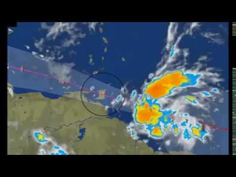 Tropical Storm Bret hits Trinidad and Tobago