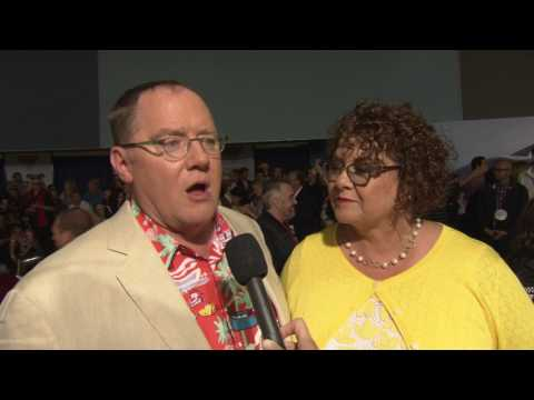 Cars 3 World Premiere - interview John Lasseter(official video)