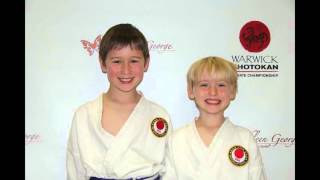 Bucks County Karate at the Warwick Shotokan Karate Champions