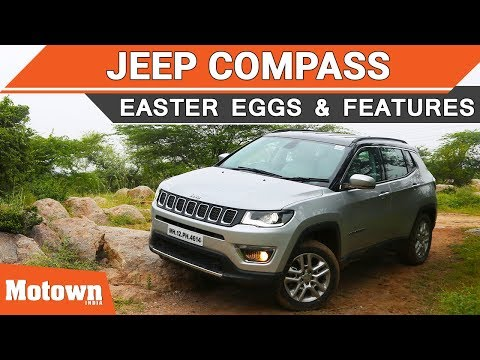 Jeep Compass Easter Eggs Offroading Features We Liked