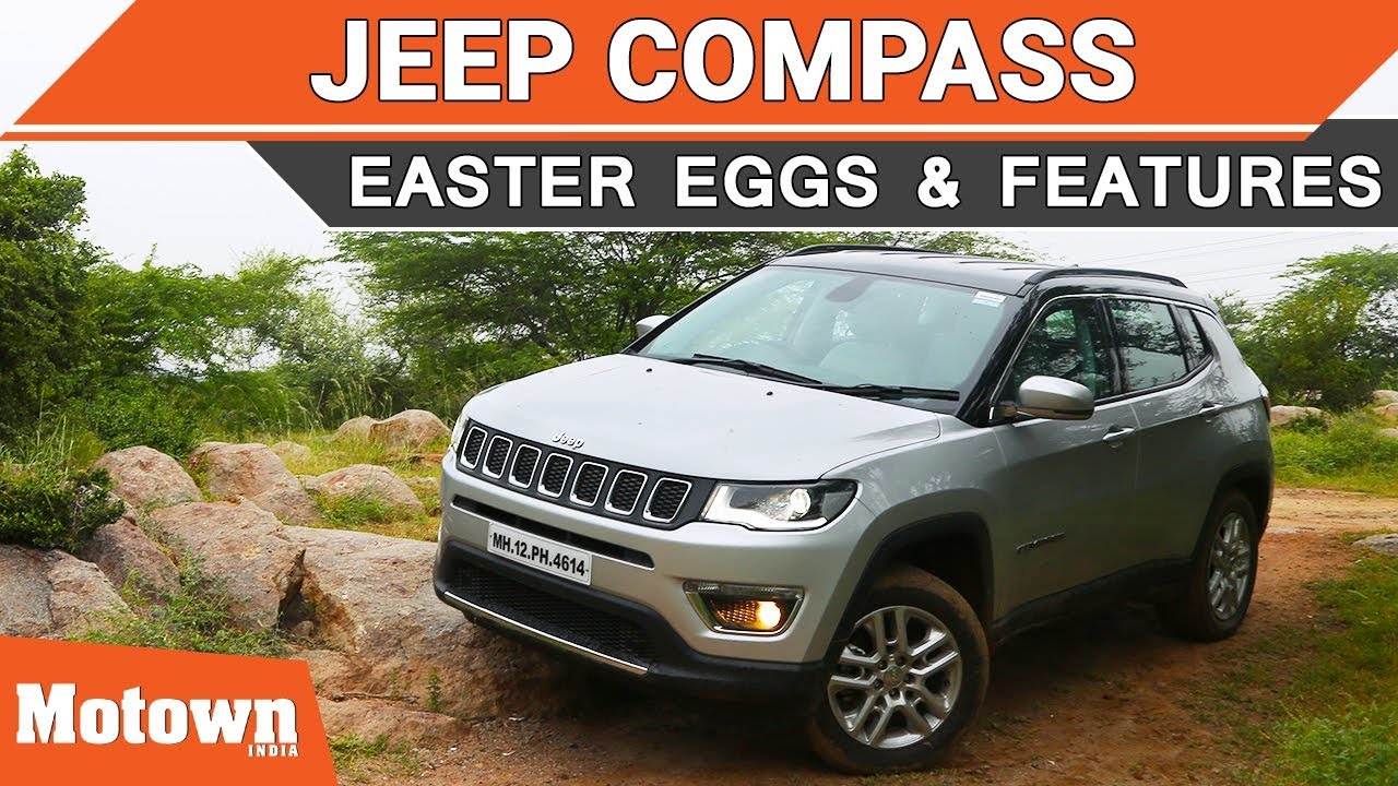 Jeep Compass Easter Eggs Offroading Features We Liked Motown India Youtube