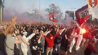 Entrada Ajax - Dinamo Kiev (22-08-2018)