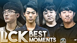 Best LCK Moments & Outplays Compilation #1