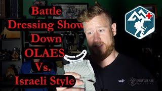 OLAES vs Israeli Style Battle Dressings