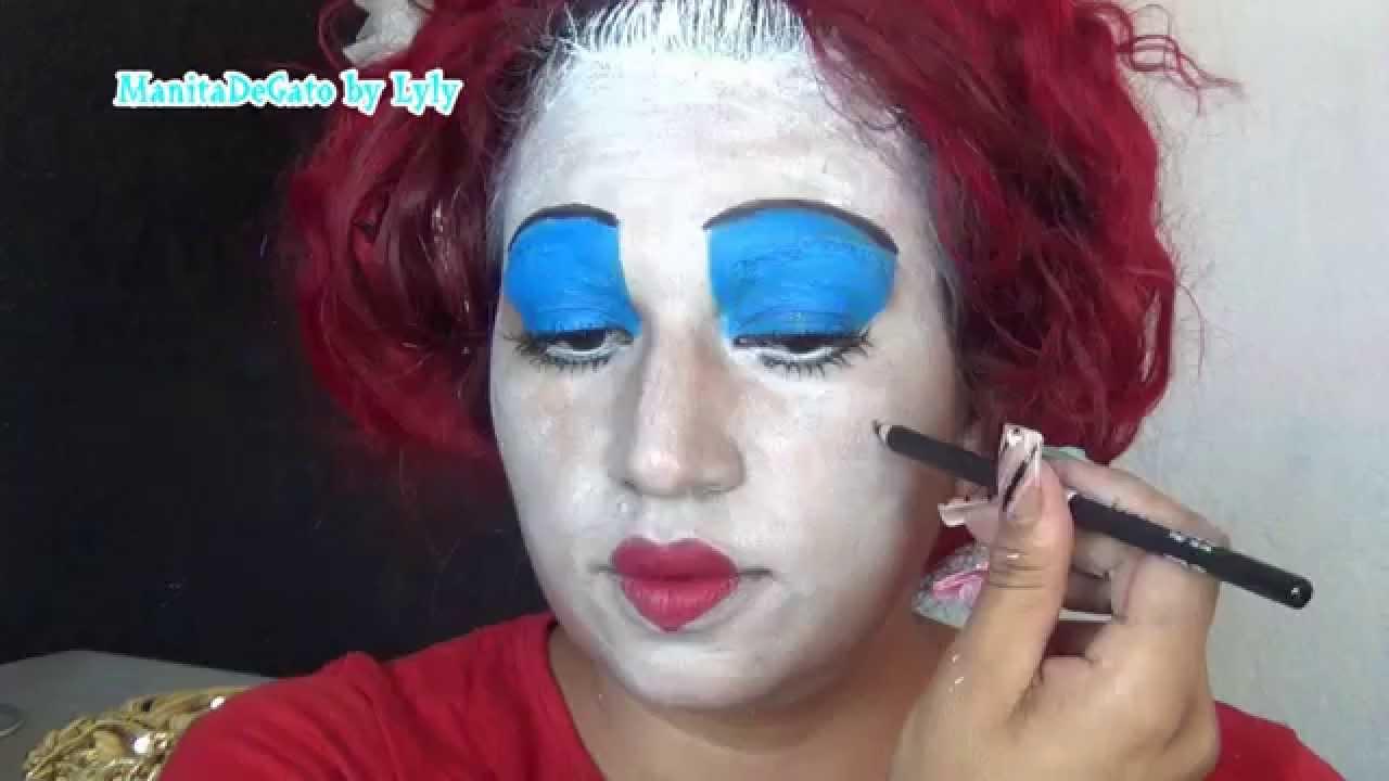 maquillaje de la reina de corazones