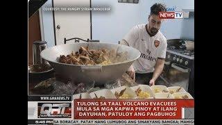 QRT: Tulong sa Taal Volcano evacuees mula sa mga kapwa Pinoy at ilang dayuhan, patuloy ang pagbuhos