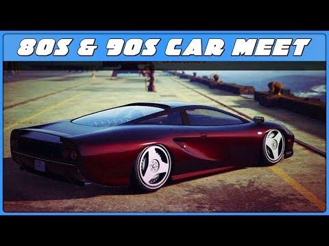 80's & 90's CAR MEET (GTA 5 Online)