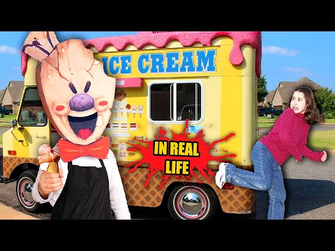 What If ICE SCREAM Game Was In REAL LIFE