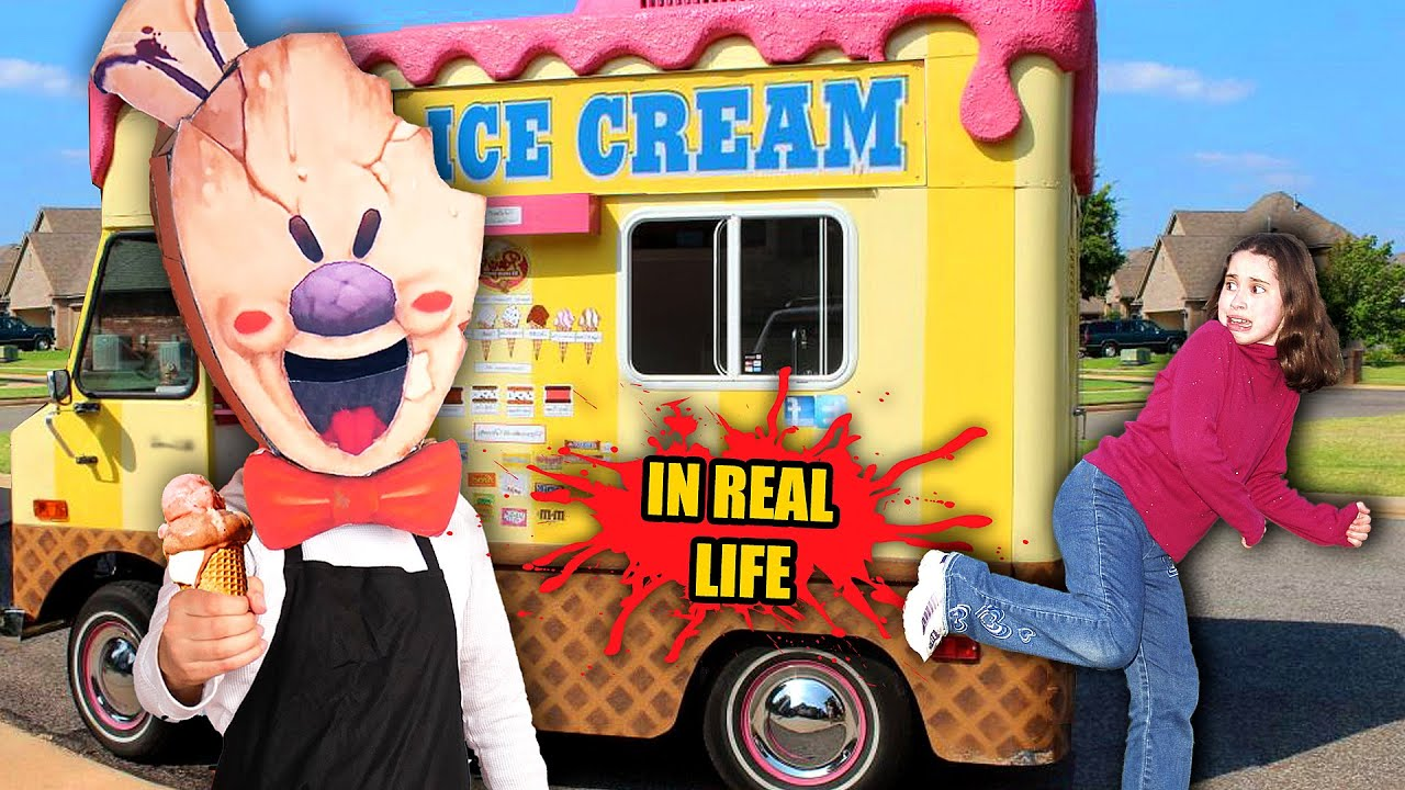 Download What if ICE SCREAM Game was in REAL LIFE