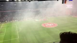 Nationalsang Danmark  - Danmark-Irland 11.11.2017