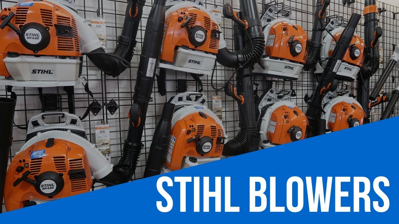 Stihl Backpack Leaf Blower Comparision