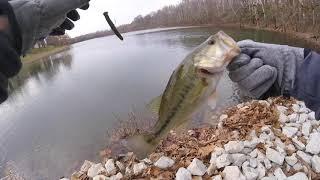 Winter Bank Fishing