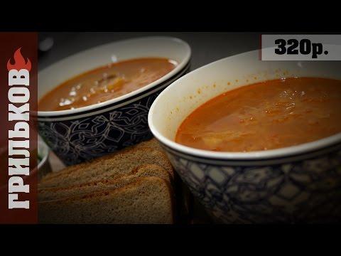 Суп с кислой капусты с курицей