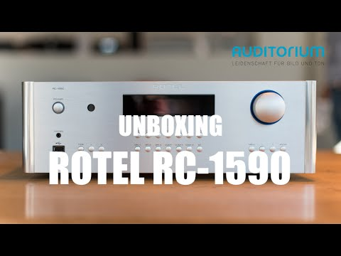 Unboxing Rotel RC 1590