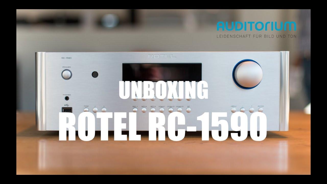 Rotel RC-1590 Silver