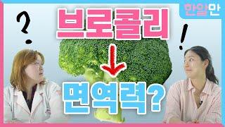 브로콜리를 먹으면 면역력이 증가한다고? 브로리코?