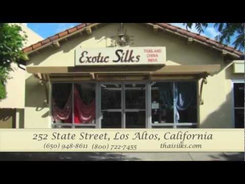 Exotic Thai Silks Fabric Store - Online Silk Store Video