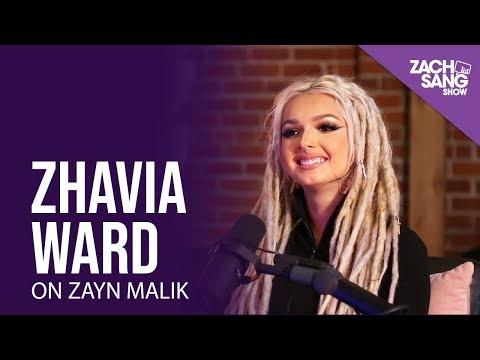 "Zhavia Ward on Meeting Zayn Malik & Why He Chose Her For ""A Whole New World"""