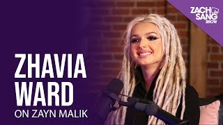 "Gambar cover Zhavia Ward on Meeting Zayn Malik & Why He Chose Her For ""A Whole New World"""