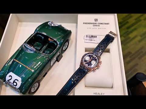 康斯登 复古计时码表限量版 Frederique Constant HEALEY Limited Edition (Watchshoppe清仓特价Only In Dec 2019) 60%折扣?!