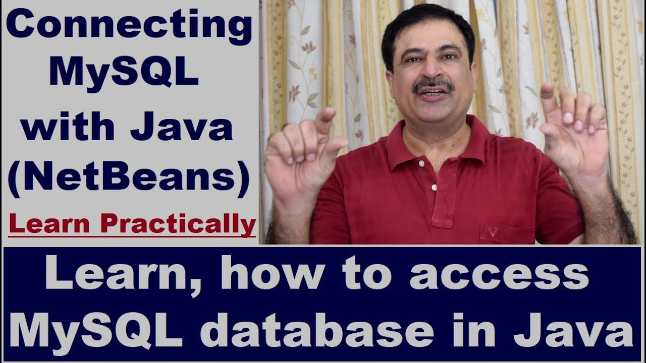 How to Connect Java With MySQL database in NetBeans