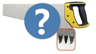 Как заточить пилу быстро? How to sharpen the saw quickly?(В этом ролике показано как можно быстро и аккуратно заточить ножовку., 2016-03-16T07:56:34.000Z)