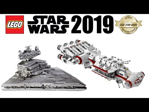 LEGO Star Wars 2019 UCS Sets! 75244 Tantive IV & 75252 Imperial Star