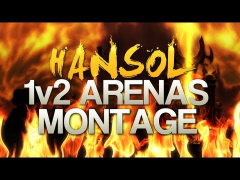 Hansol 1v2 Solo Arena Fire PvP MoP [5.1]