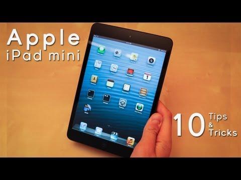 Apple iPad mini: 10 Tips & Tricks
