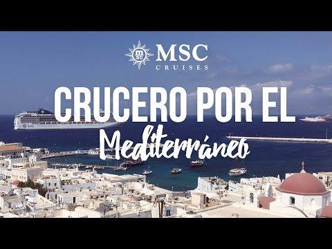 Crucero Por El Mediterráneo Con MSC Magnifica