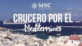 En Septiembre de 2016 hicimos un crucero por el Mediterráneo con la...