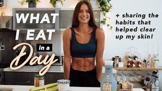 What I eat iฑ a day + habits that cleared my skin   Helen Owen