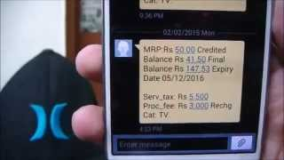 How to Get Rs.50 FREE RECHARGE in 2min With PROOF|Limited Offer