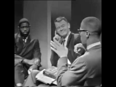 Malcolm X names Dick Gregory as one of the puppets