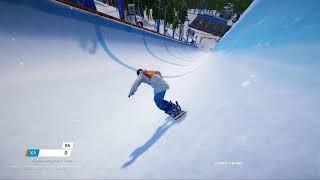 Steep Road To The Olympics - Korea - Halfpipe Gameplay