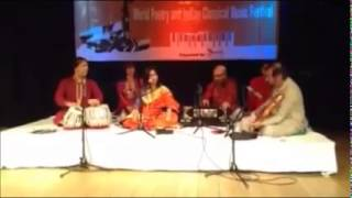 Chandra Chakraborty:Rag Malkaunsh:World Poetry and Indian Classical Music Festival, Leeds