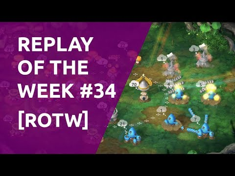 ROTW#34   How not to play coop   Mushroom Wars 2