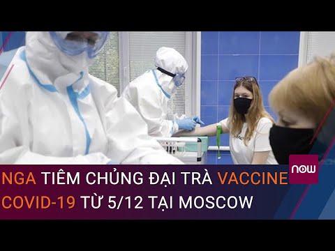 Nga tiêm chủng đại trà vaccine ngừa Covid-19 từ 5/12 tại Moscow | VTC Now
