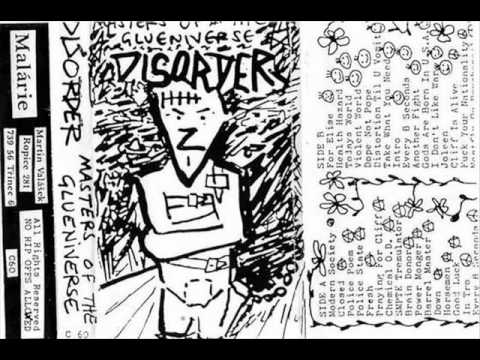 DISORDER - Masters of Glueniverse 1988 - 1992 tape