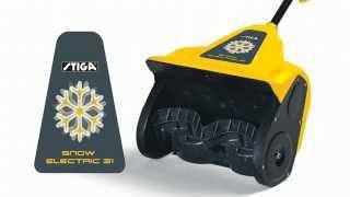STIGA SNOW ELECTRIC Электрический снегоуборщик Stiga ST 1131E смотреть