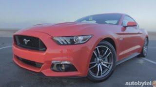 2015 Ford Mustang GT 5.0 Fastback Test Drive Video Review