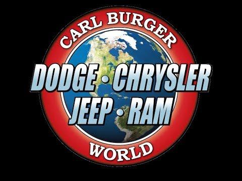 Carl Burger Dodge Chrysler Jeep Ram 2017 Youtube
