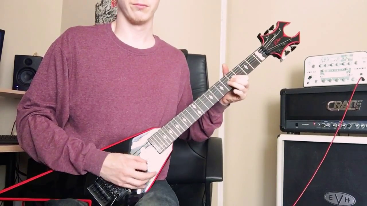 bc rich jrv icon test youtube. Black Bedroom Furniture Sets. Home Design Ideas