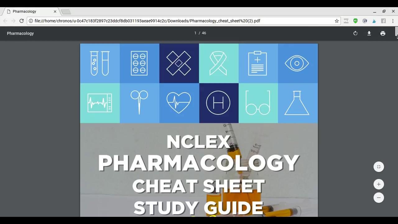 Nclex Pn Cheat Sheet 2018