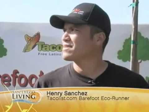 Tacolist eco-runner -San Diego TV  (english)