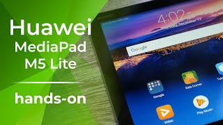 Huawei MediaPad M5 Lite is another affordably priced Android tablet [hands-on]